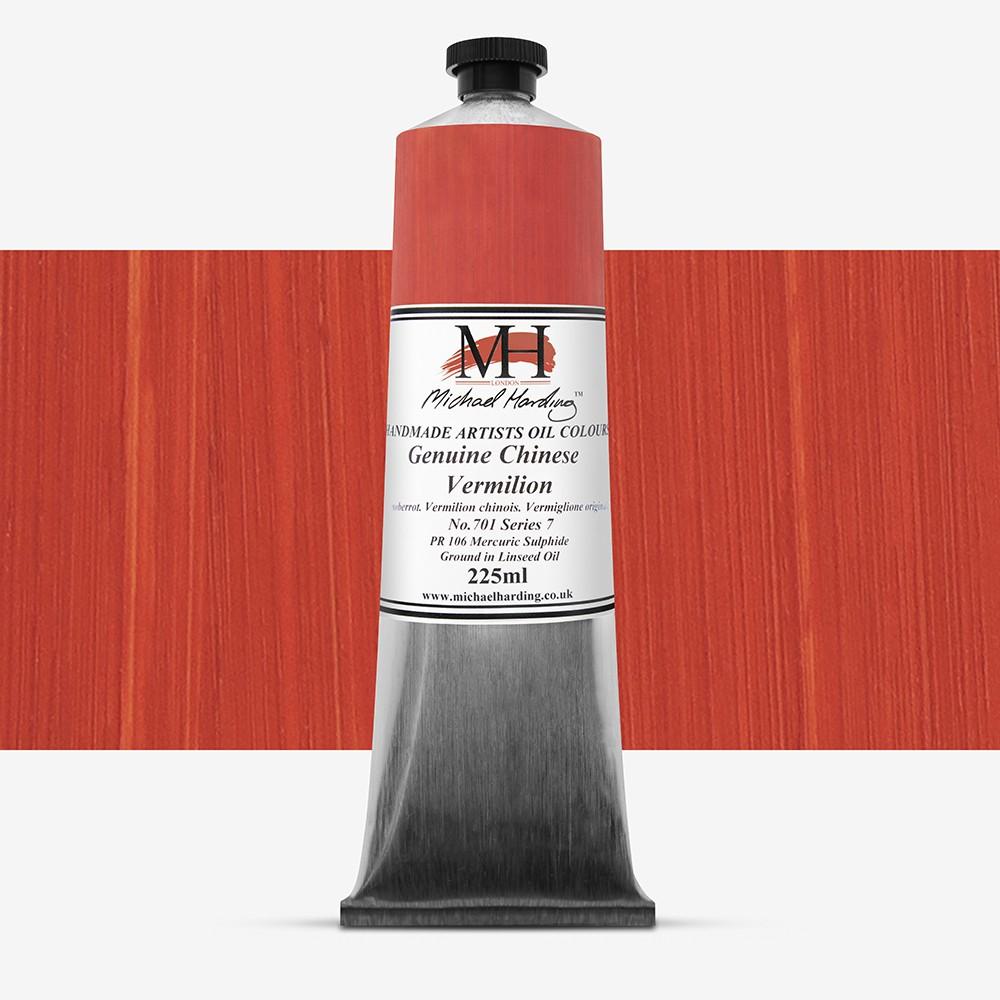 Michael Harding : Oil Paint : 225ml : Genuine Chinese Vermilion