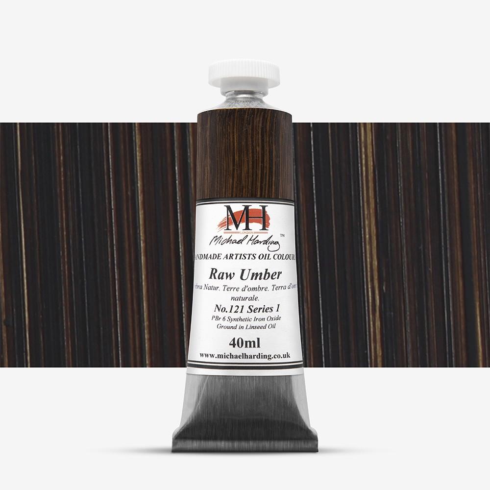 Michael Harding : Oil Paint : 40ml : Raw Umber