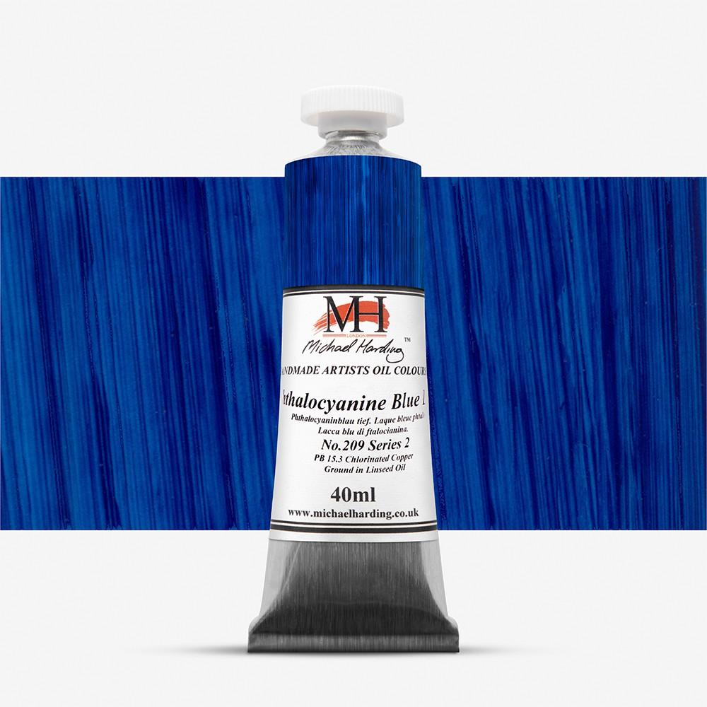 Michael Harding : Oil Paint : 40ml : Phthalo Blue Lake