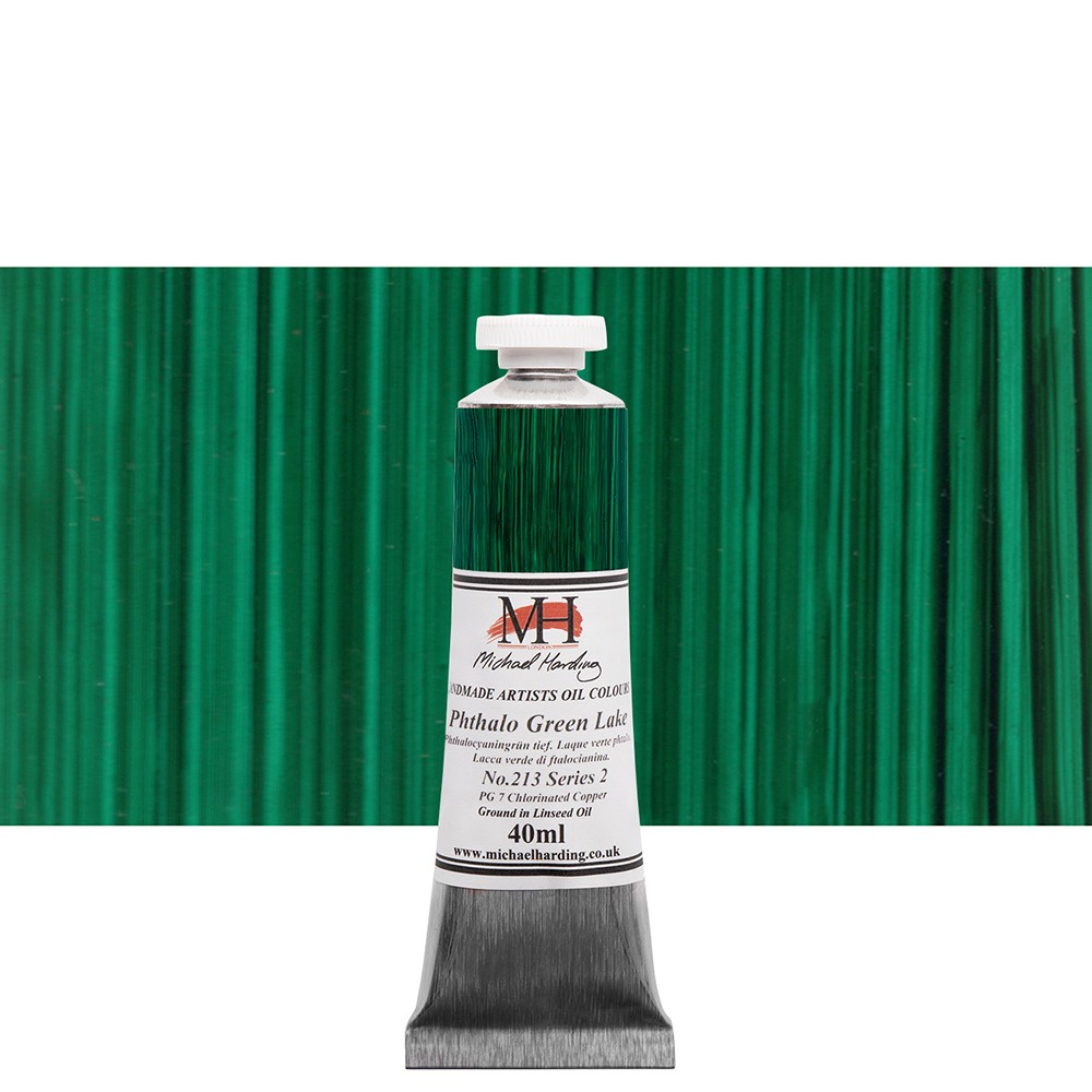 Michael Harding Oil Paint 40ml Phthalo Green Lake