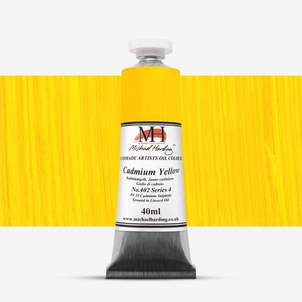 Michael Harding : Oil Paint : 40ml : Cadmium Yellow