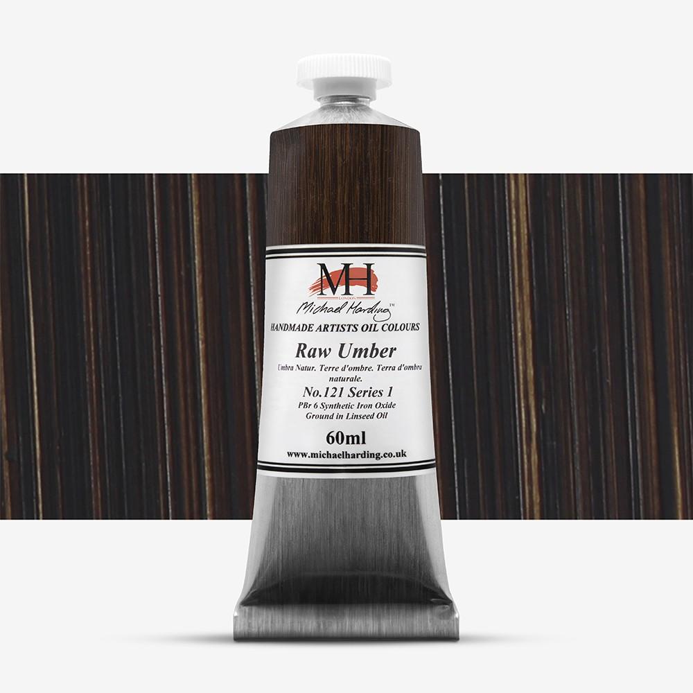 Michael Harding : Oil Paint : 60ml : Raw Umber