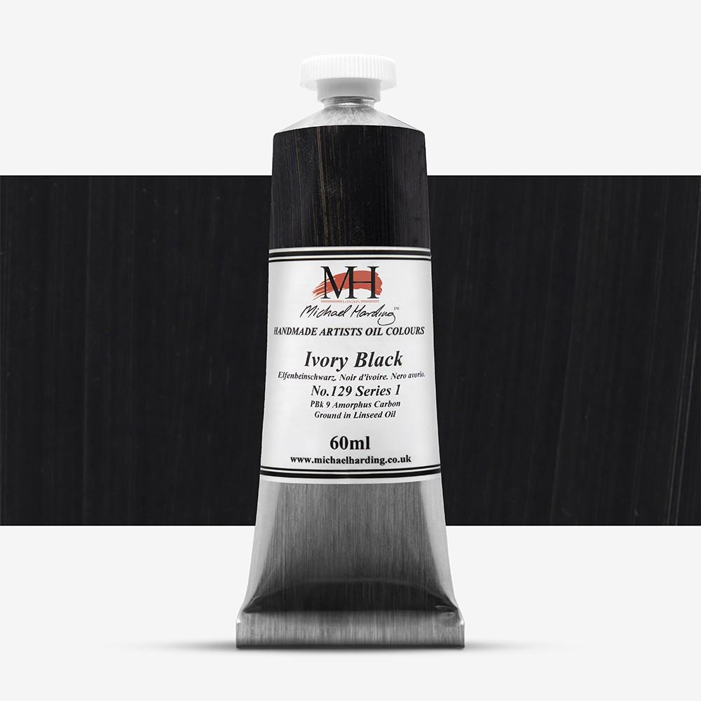 Michael Harding : Oil Colour : 60ml Ivory Black