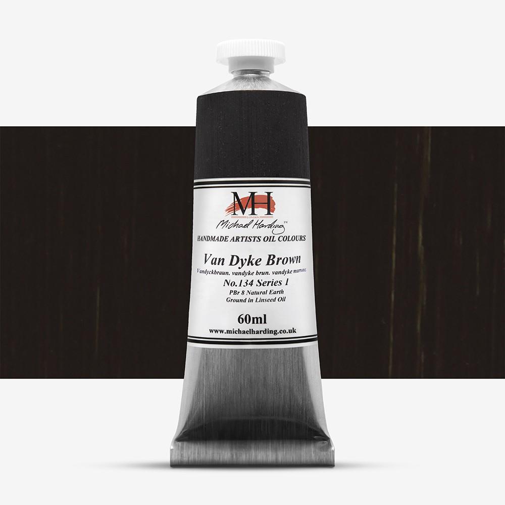Michael Harding : Oil Paint : 60ml : Vandyke Brown