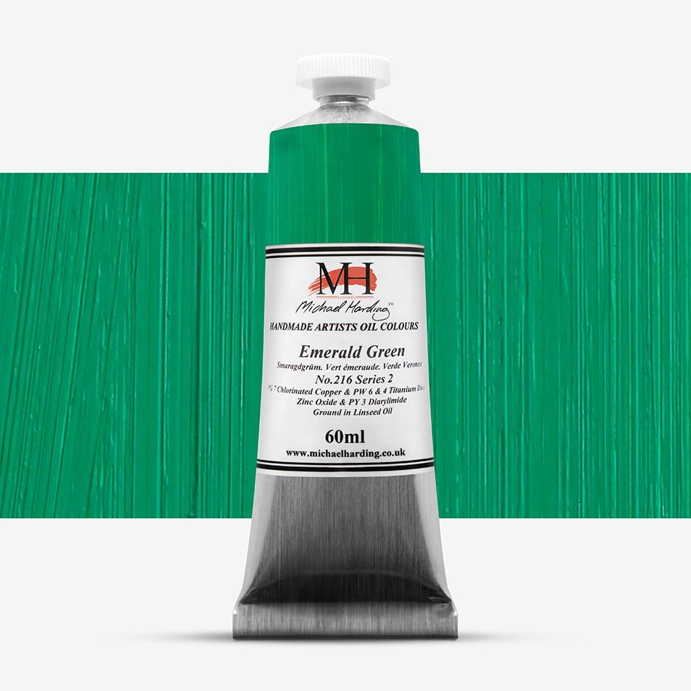 Michael Harding : Oil Paint : 60ml : Emerald Green
