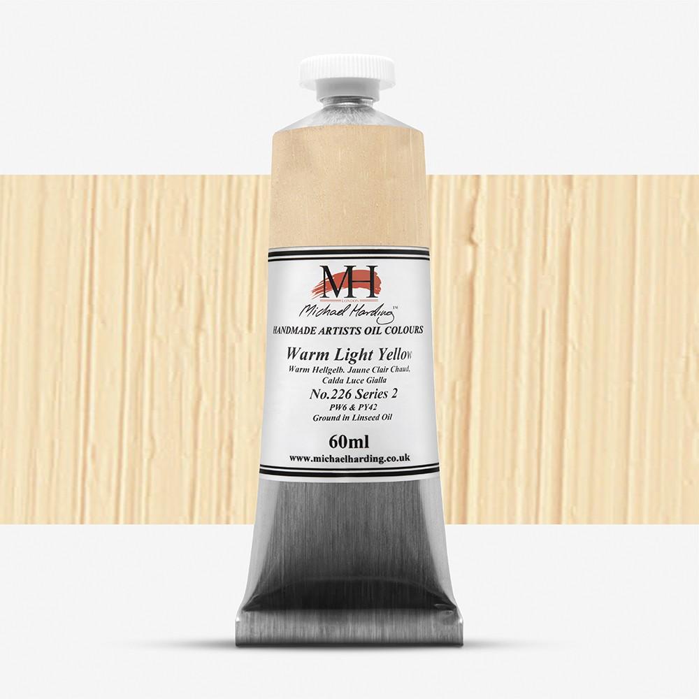 Michael Harding : Oil Paint : 60ml : Warm Light Yellow