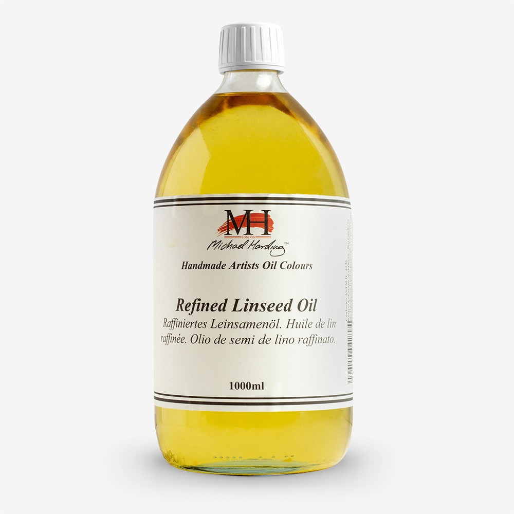 Michael Harding : Refined Linseed Oil : 1000ml