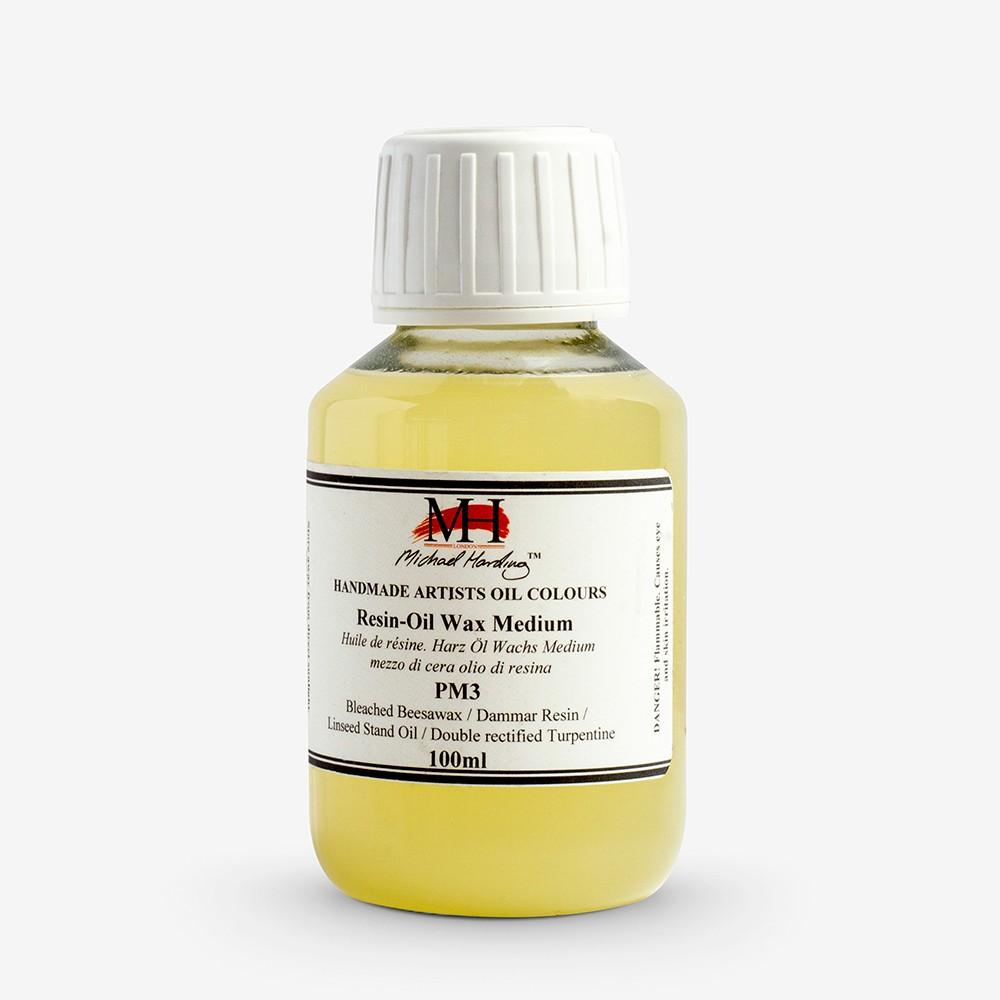 Michael Harding : Resin Oil Wax Medium : 100ml