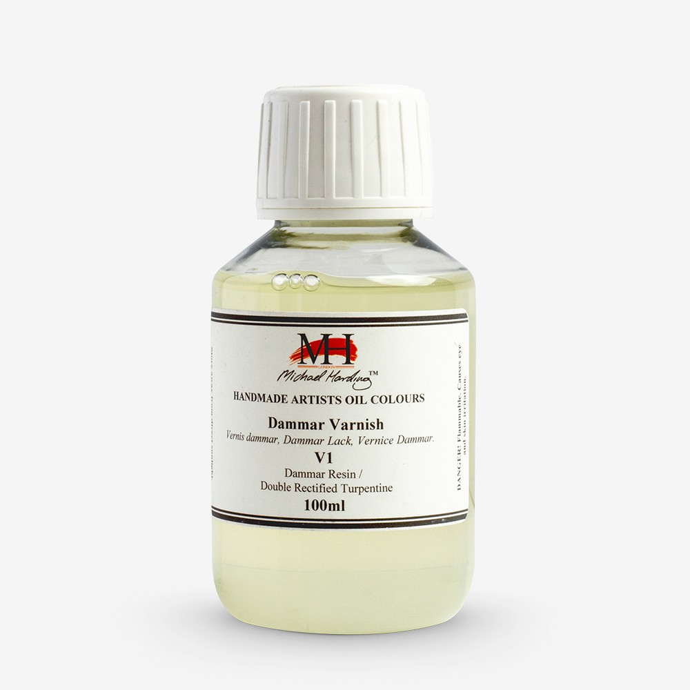 Michael Harding : Dammar Varnish : 100ml : Ship By Road Only