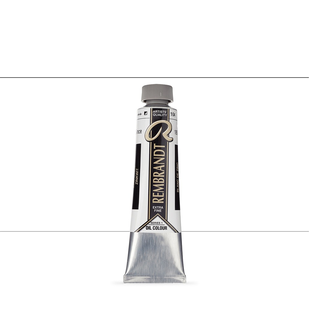 Talens : Rembrandt Oil Paint : 40 ml Tube : Zinc White