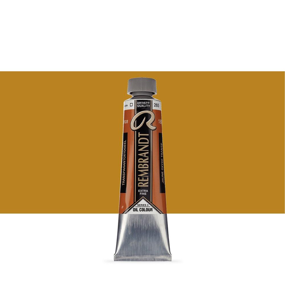 Talens : Rembrandt Oil Paint : 40 ml : Transparent Oxide Yellow