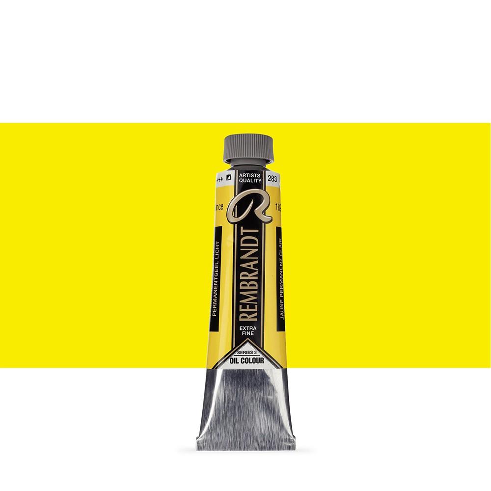 Talens : Rembrandt Oil Paint : 40 ml : Permanent Yellow Light