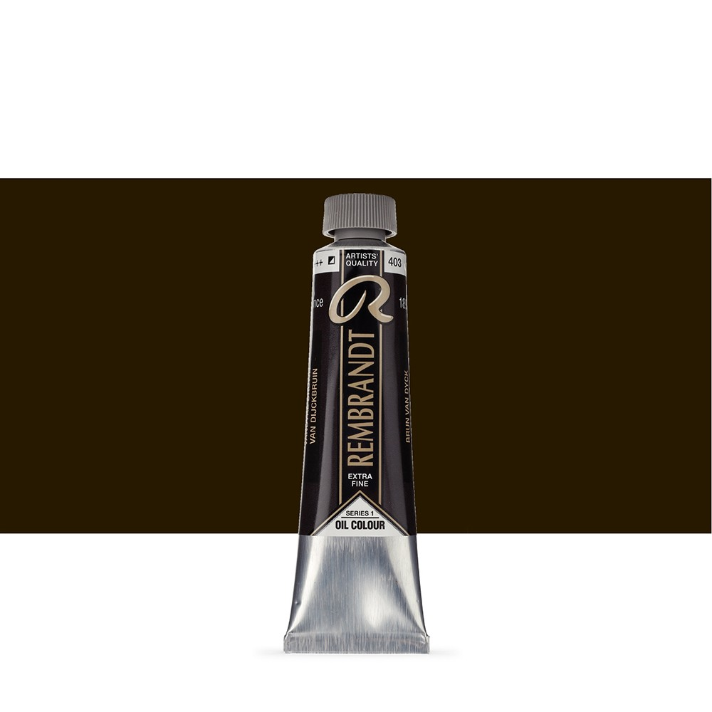 Talens : Rembrandt Oil Paint : 40 ml Tube : Vandyke Brown