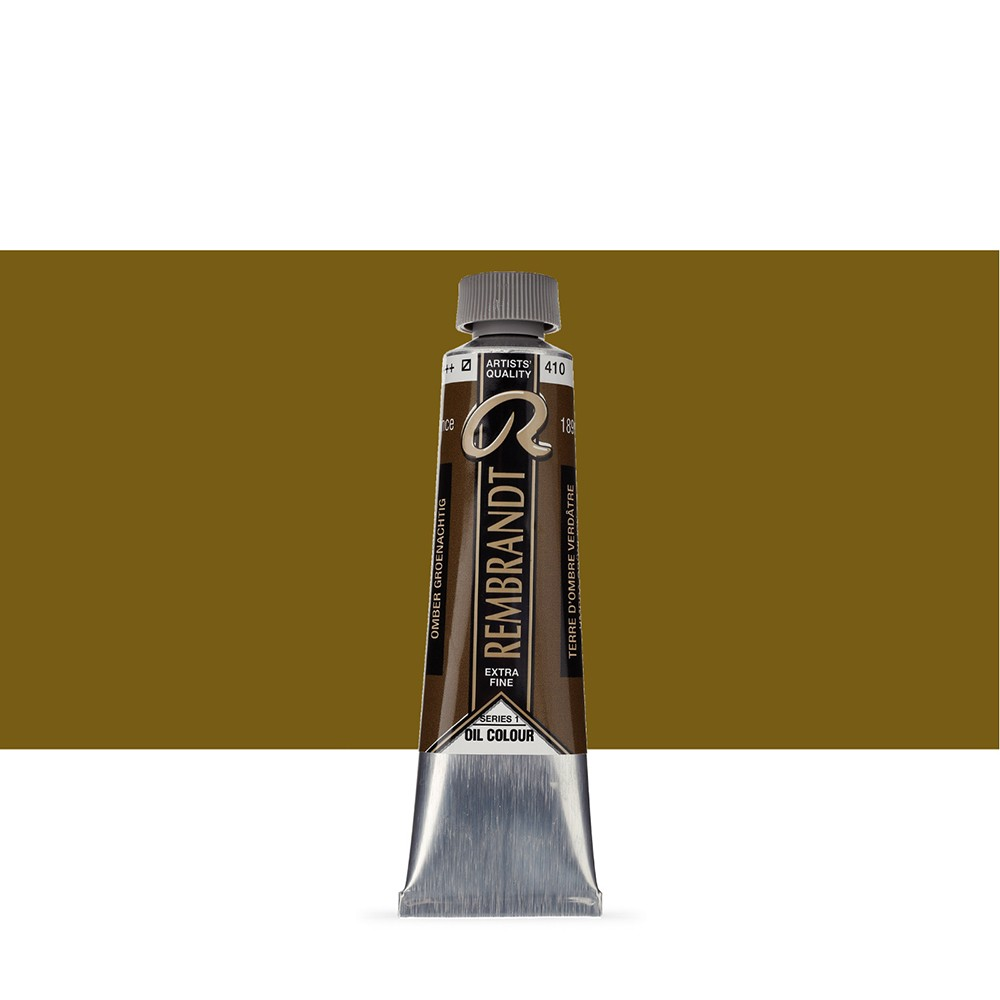 Talens : Rembrandt Oil Paint : 40 ml : Greenish Umber