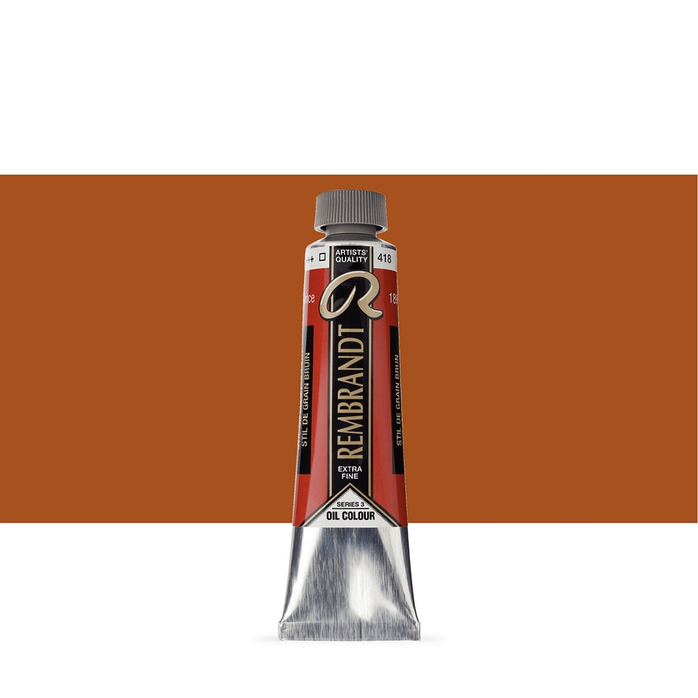 Talens : Rembrandt Oil Paint : 40 ml : Stil Grain Brown