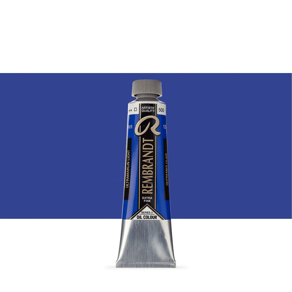 Talens : Rembrandt Oil Paint : 40 ml Tube : Ultramarine Light