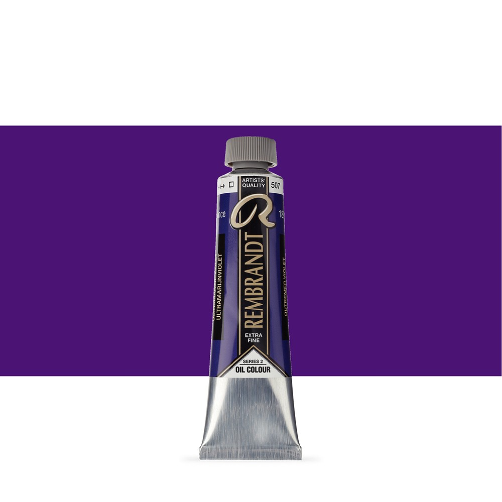 Talens : Rembrandt Oil Paint : 40 ml Tube : Ultramarine Violet