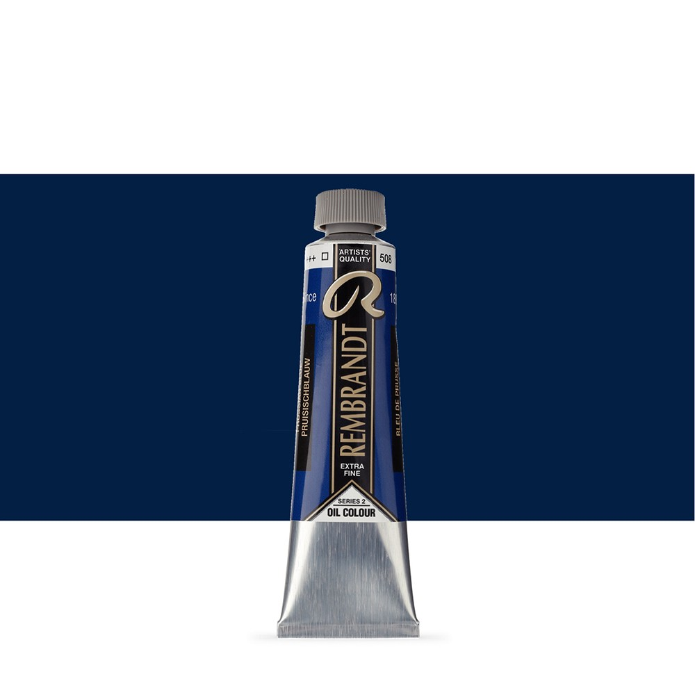 Talens : Rembrandt Oil Paint : 40 ml Tube : Prussian Blue