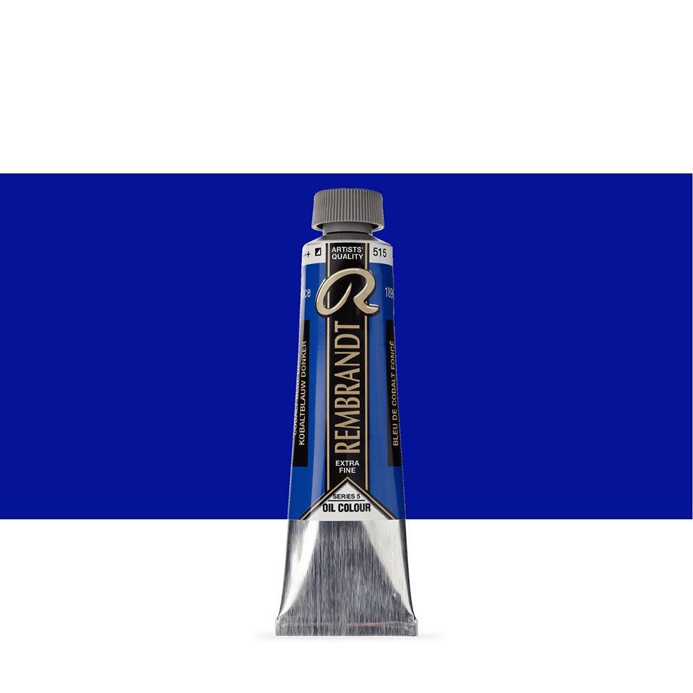 Talens : Rembrandt Oil Paint : 40 ml Tube : Cobalt Blue Deep