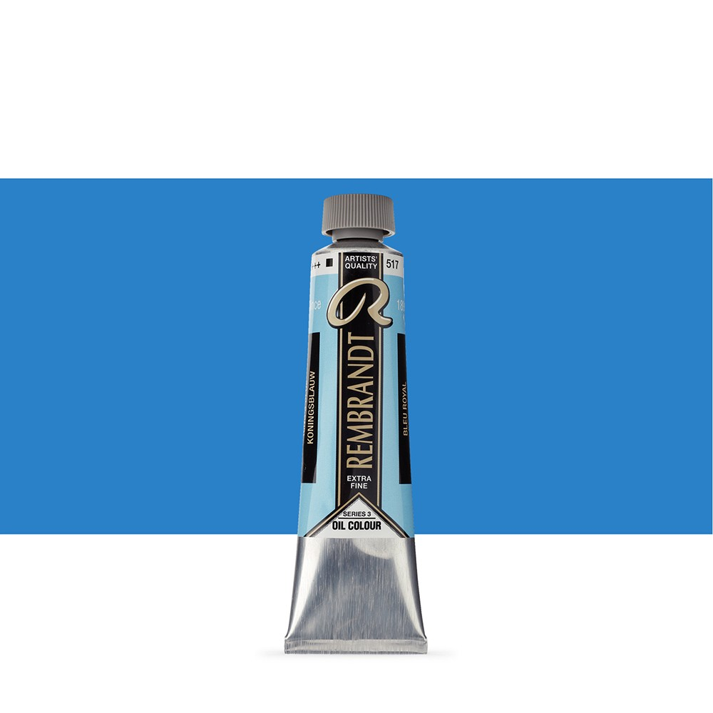 Talens : Rembrandt Oil Paint : 40 ml Tube : Kings Blue