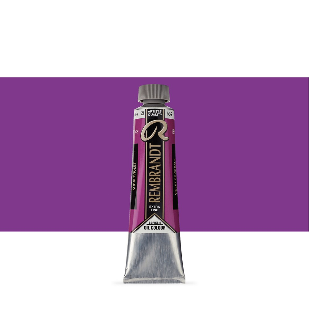 Talens : Rembrandt Oil Paint : 40 ml Tube : Cobalt Violet