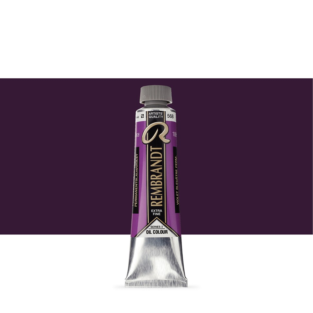 Talens : Rembrandt Oil Paint : 40 ml Tube : Permanent Blue Violet