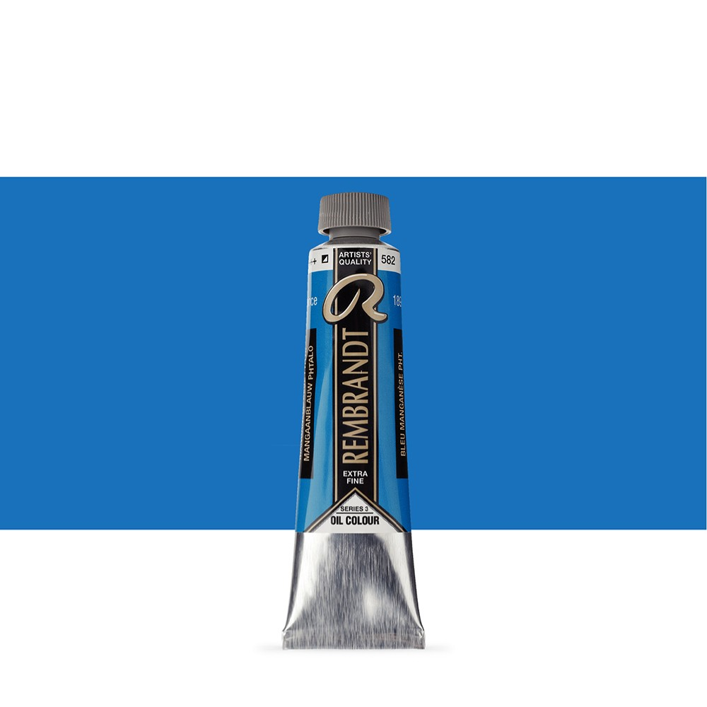 Talens : Rembrandt Oil Paint : 40 ml : Manganese Blue Phthalo