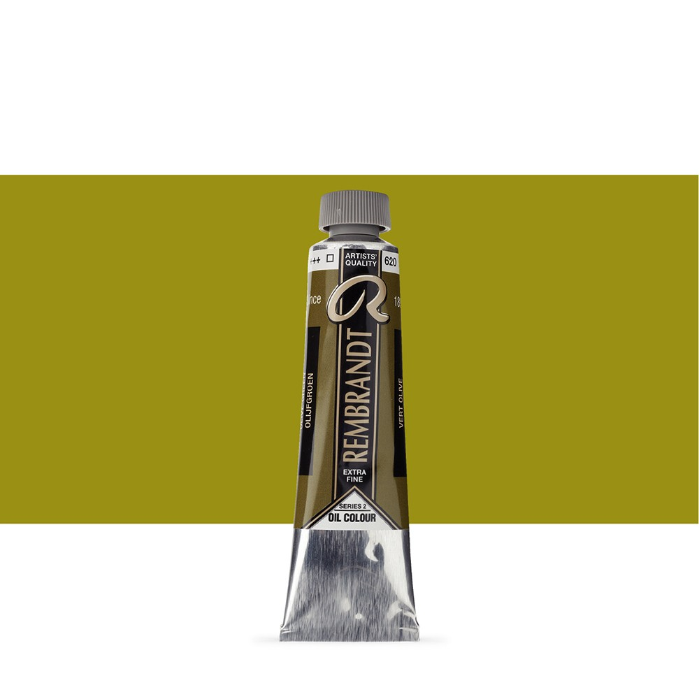 Talens : Rembrandt Oil Paint : 40 ml Tube : Olive Green