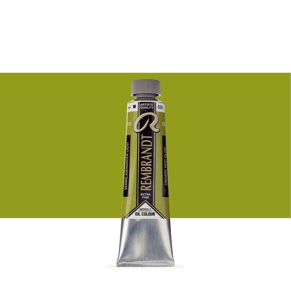 Talens : Rembrandt Oil Paint : 40 ml Tube : Cinnabar Green Light