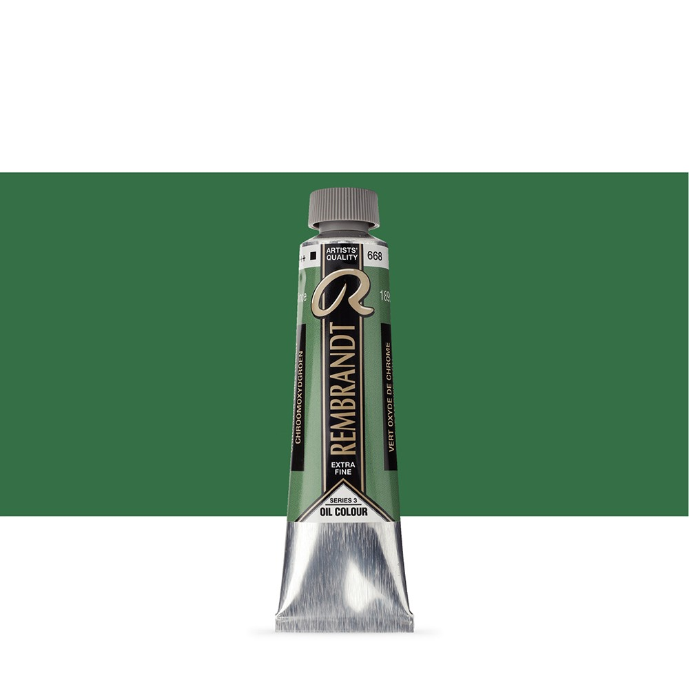 Talens : Rembrandt Oil Paint : 40 ml Tube : Chromium Oxide Green