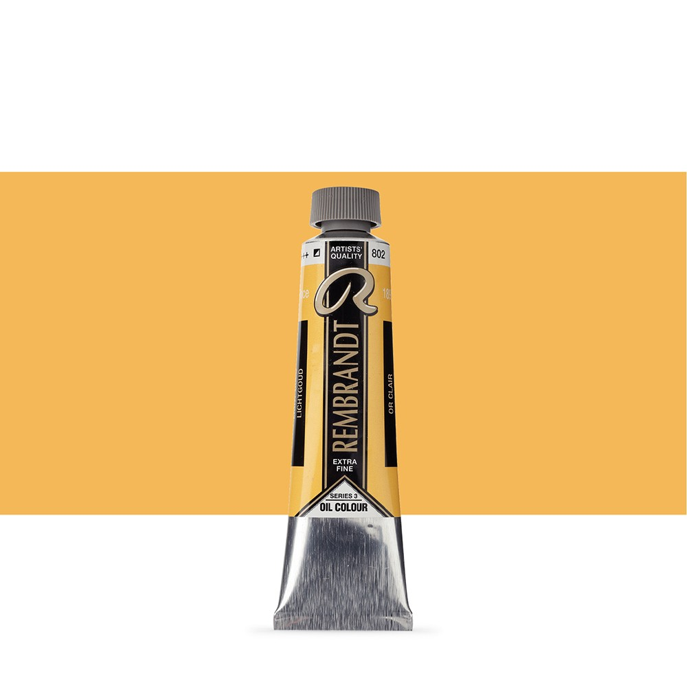 Talens : Rembrandt Oil Paint : 40 ml Tube : Light Gold