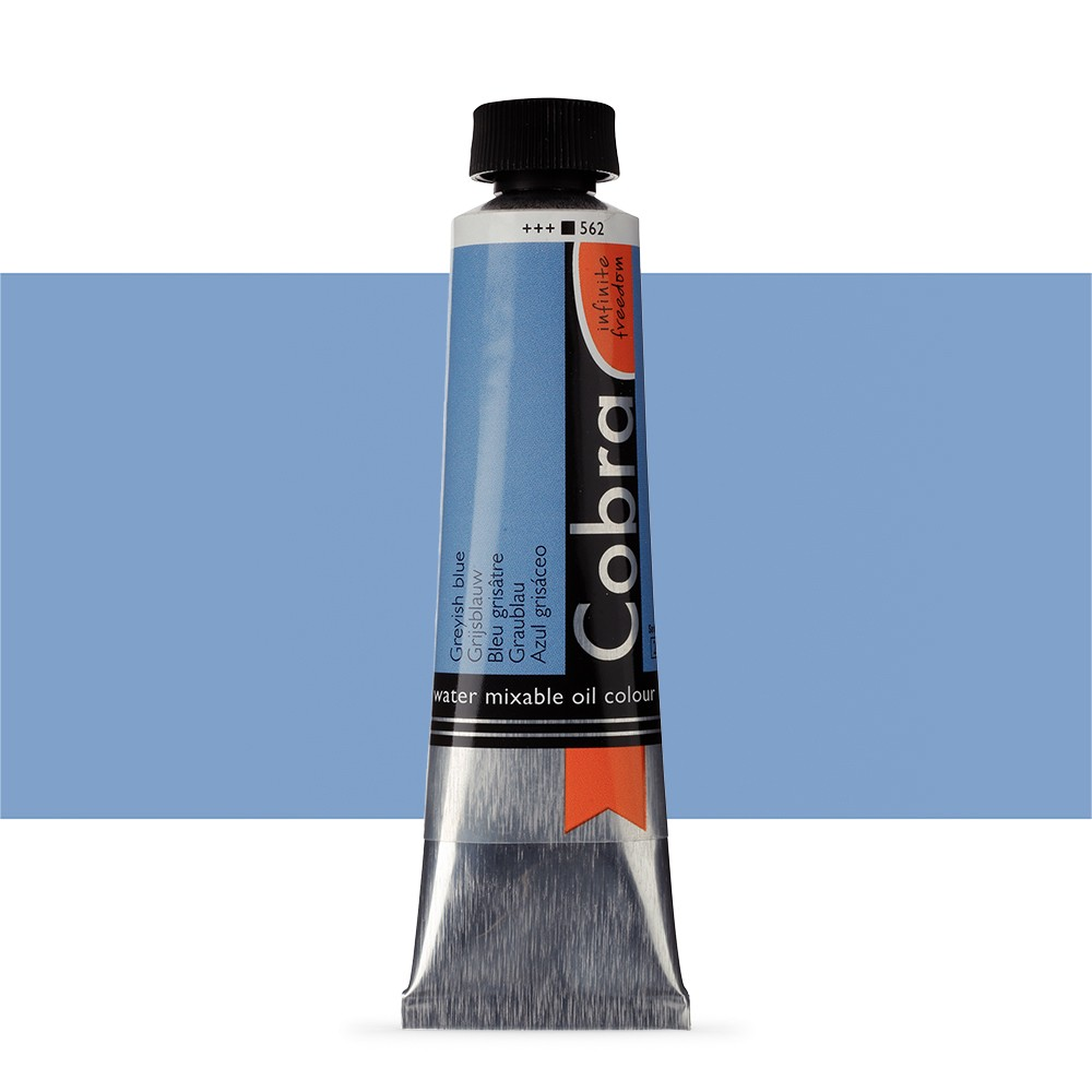Talens : Cobra Artist Water Mixable Oil Paint : 40ml Greyish Blue