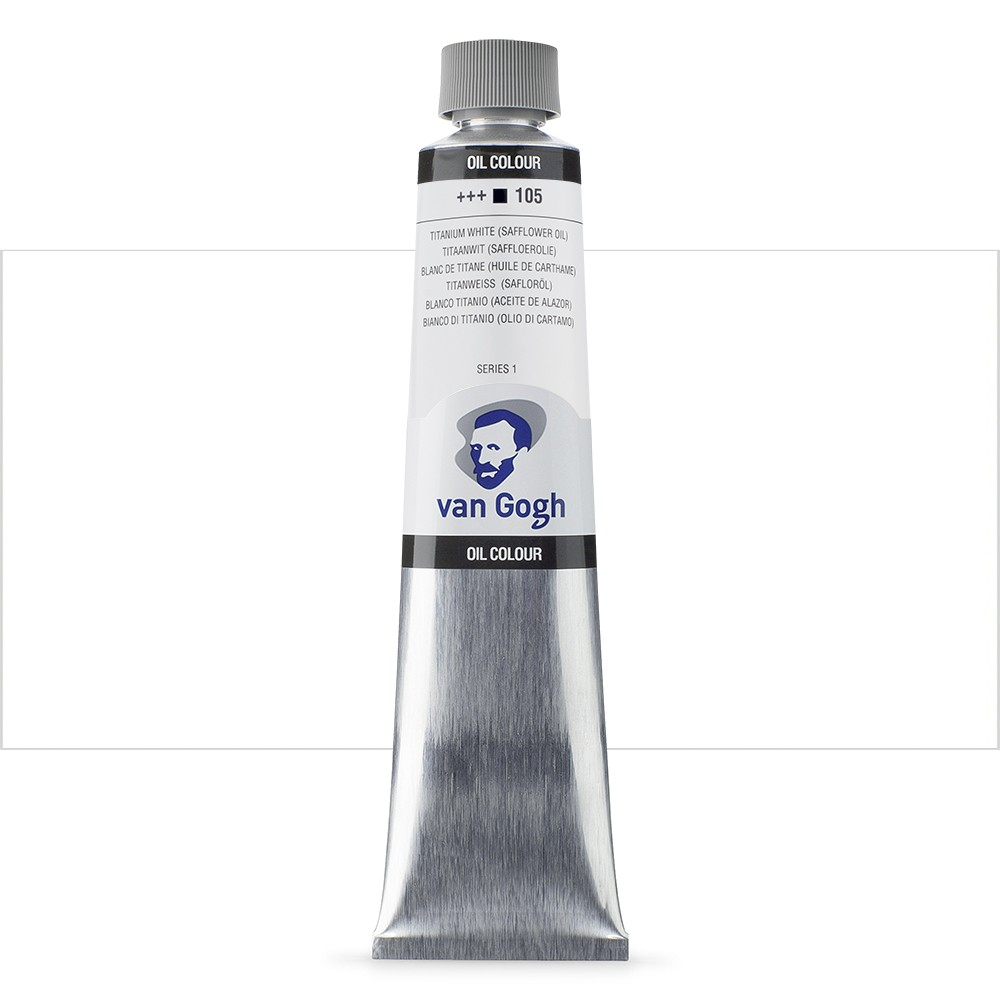 Talens : Van Gogh Oil Colour 200ml : TITANIUM WHITE S1