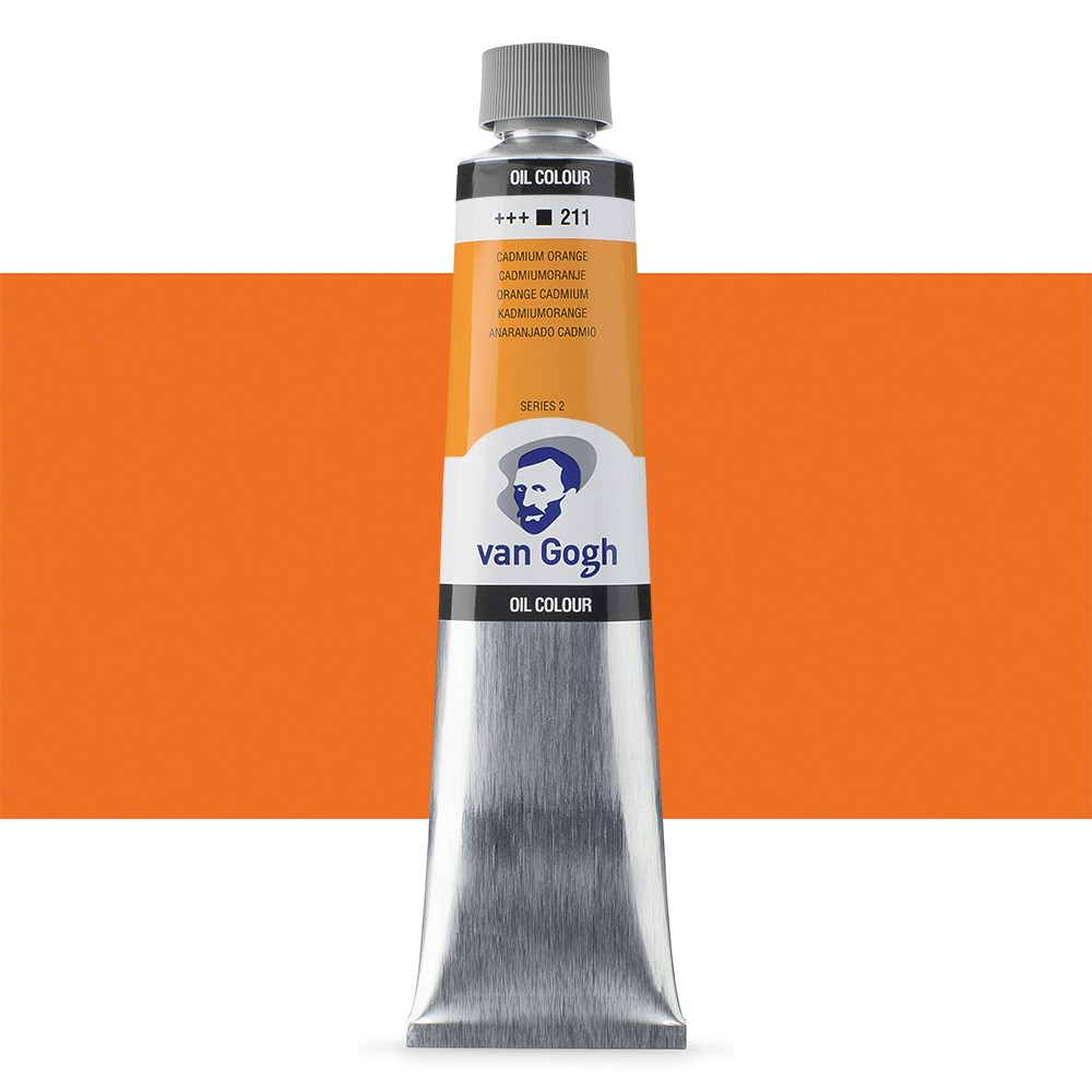 Talens : Van Gogh Oil Paint 200ml : Cadmium Orange S2