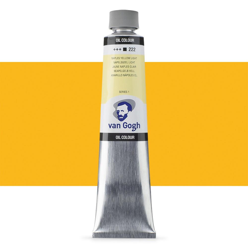 Talens : Van Gogh Oil Paint : 200ml : Naples Yellow Light S1