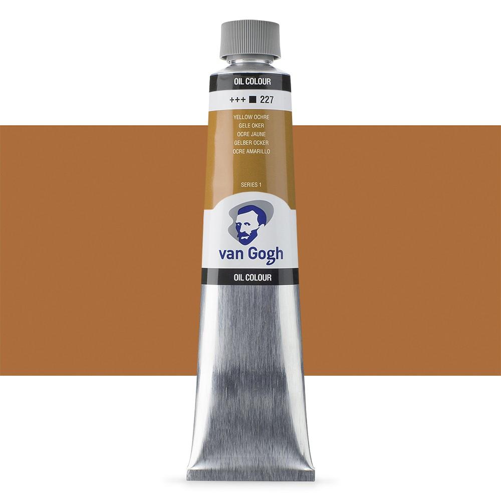 Talens : Van Gogh Oil Colour 200ml : YELLOW OCHRE S1
