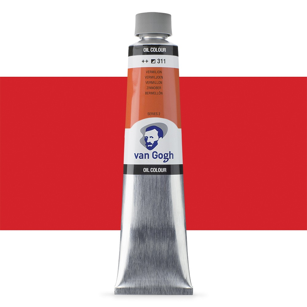 Talens : Van Gogh Oil Paint 200ml : Vermilion S2