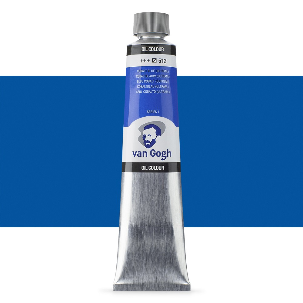 Talens : Van Gogh Oil Colour 200ml : COBALT BLUE (ULTRAMARINE) S1