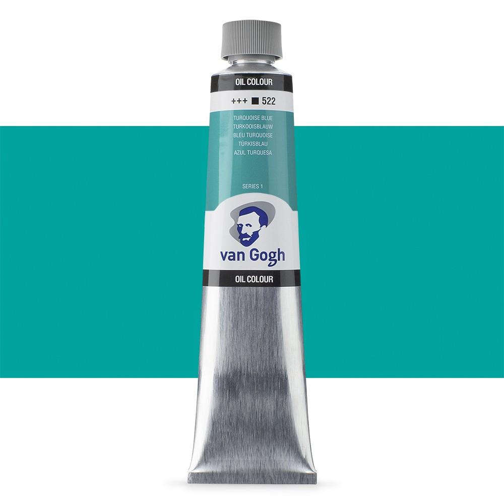 Talens : Van Gogh Oil Colour 200ml : TURQUOISE BLUE S1