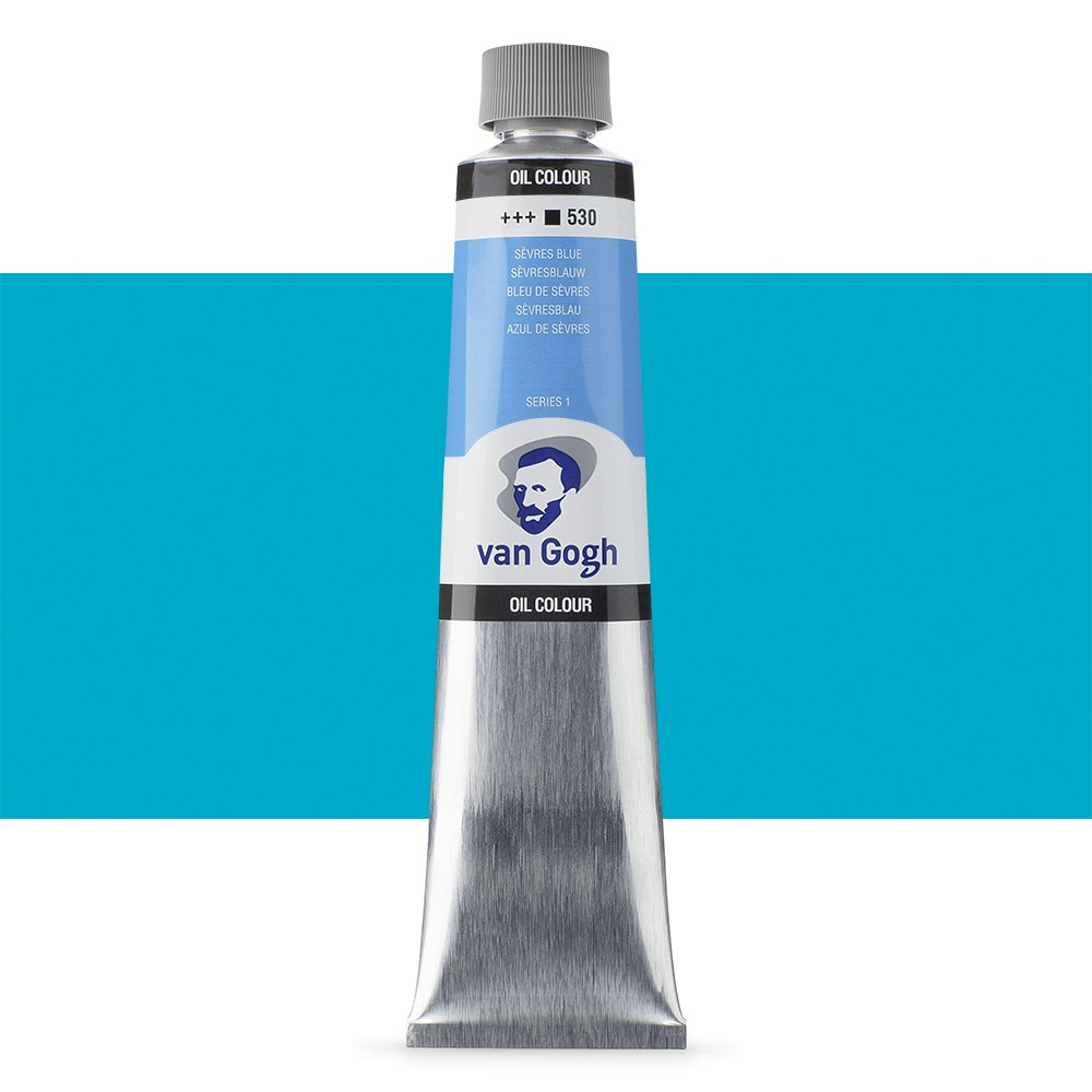 Talens : Van Gogh Oil Colour 200ml : SEVRES BLUE S1