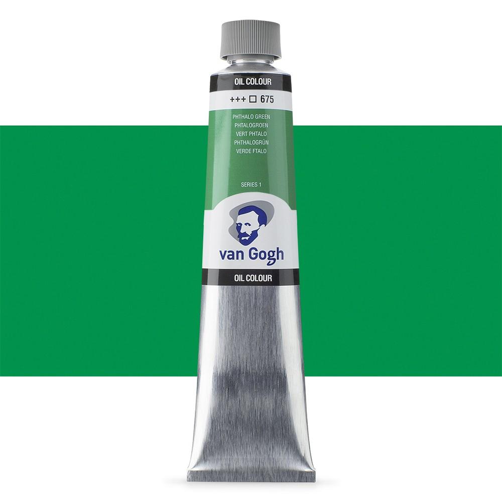 Talens : Van Gogh Oil Colour 200ml : PHTHALO GREEN S1