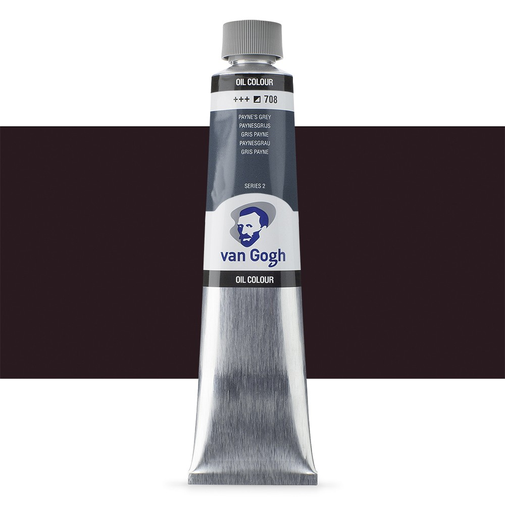 Talens : Van Gogh Oil Paint : 200ml : Payne's Grey S2
