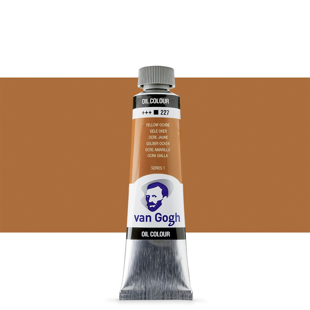 Talens : Van Gogh Oil Paint : 40ml : Yellow Ochre S1