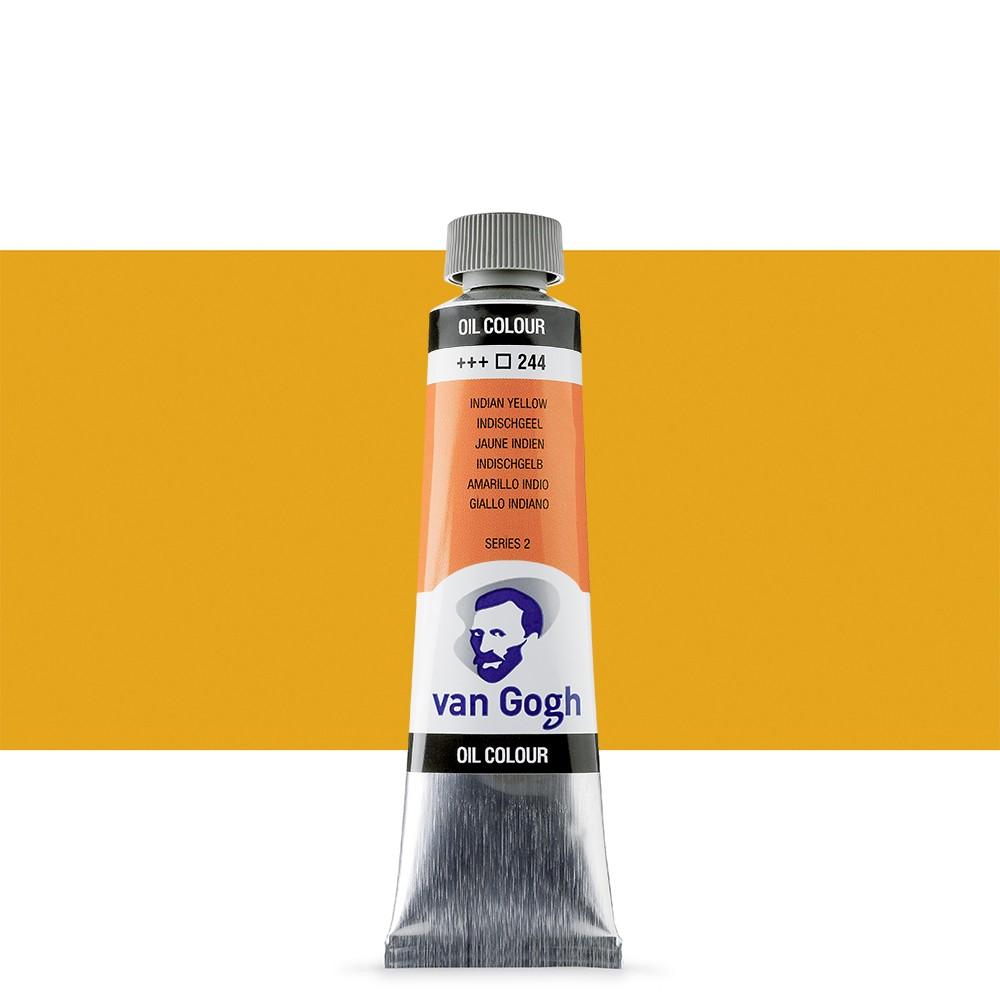 Talens : Van Gogh Oil Paint 40ml : Indian Yellow S2