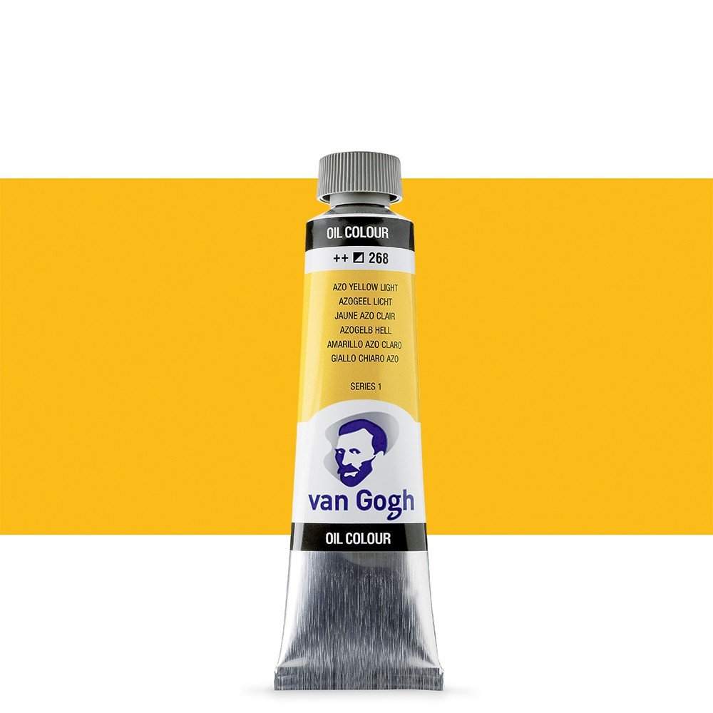 Talens : Van Gogh Oil Paint : 40ml : Azo Yellow Light S1