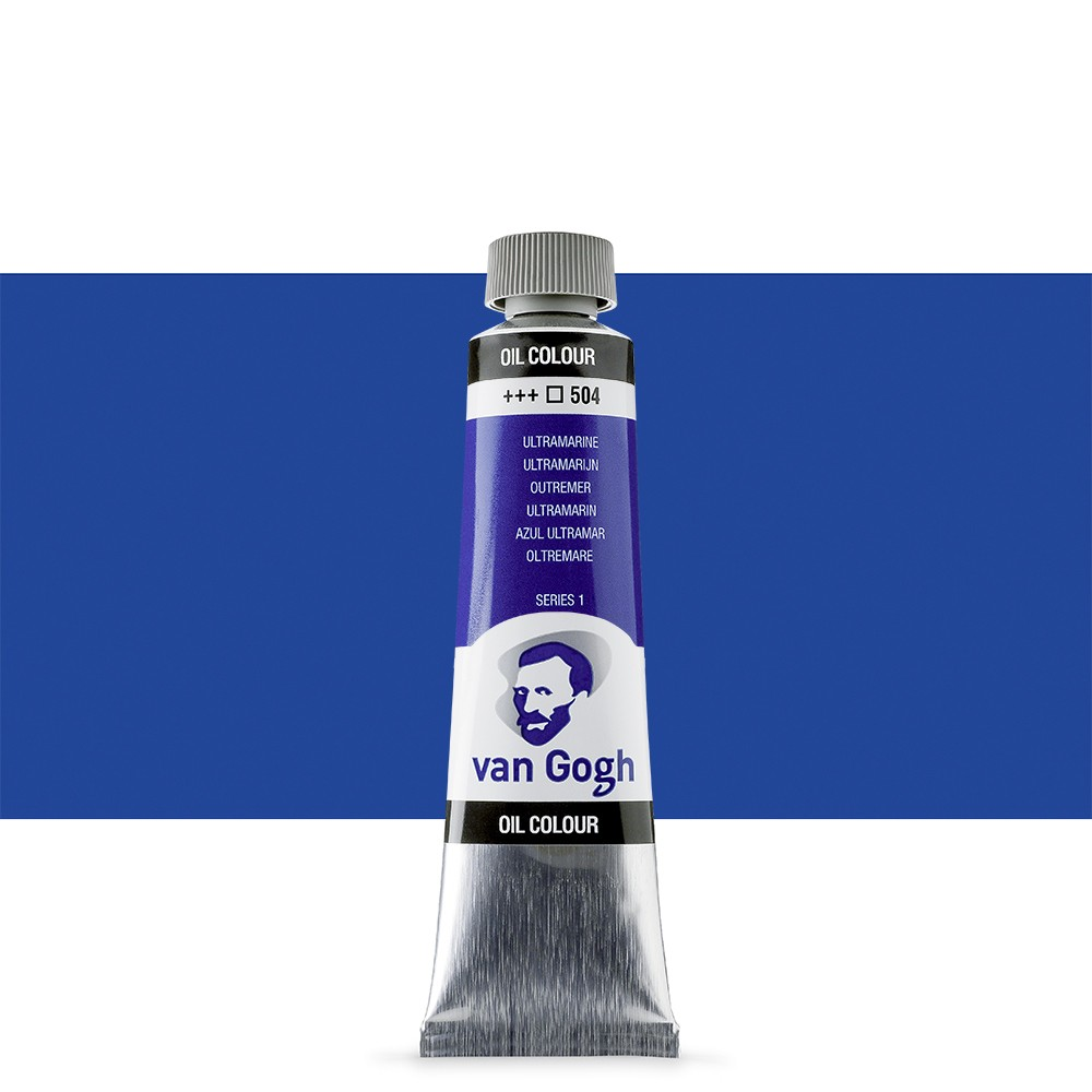 Talens : Van Gogh Oil Paint 40ml : Ultramarine S1