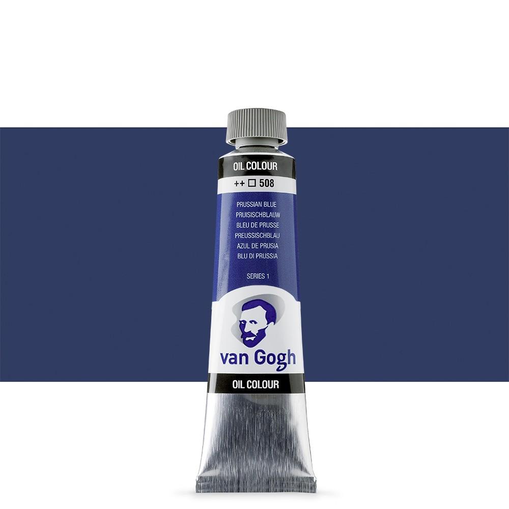 Talens : Van Gogh Oil Paint : 40ml : Prussian Blue S1