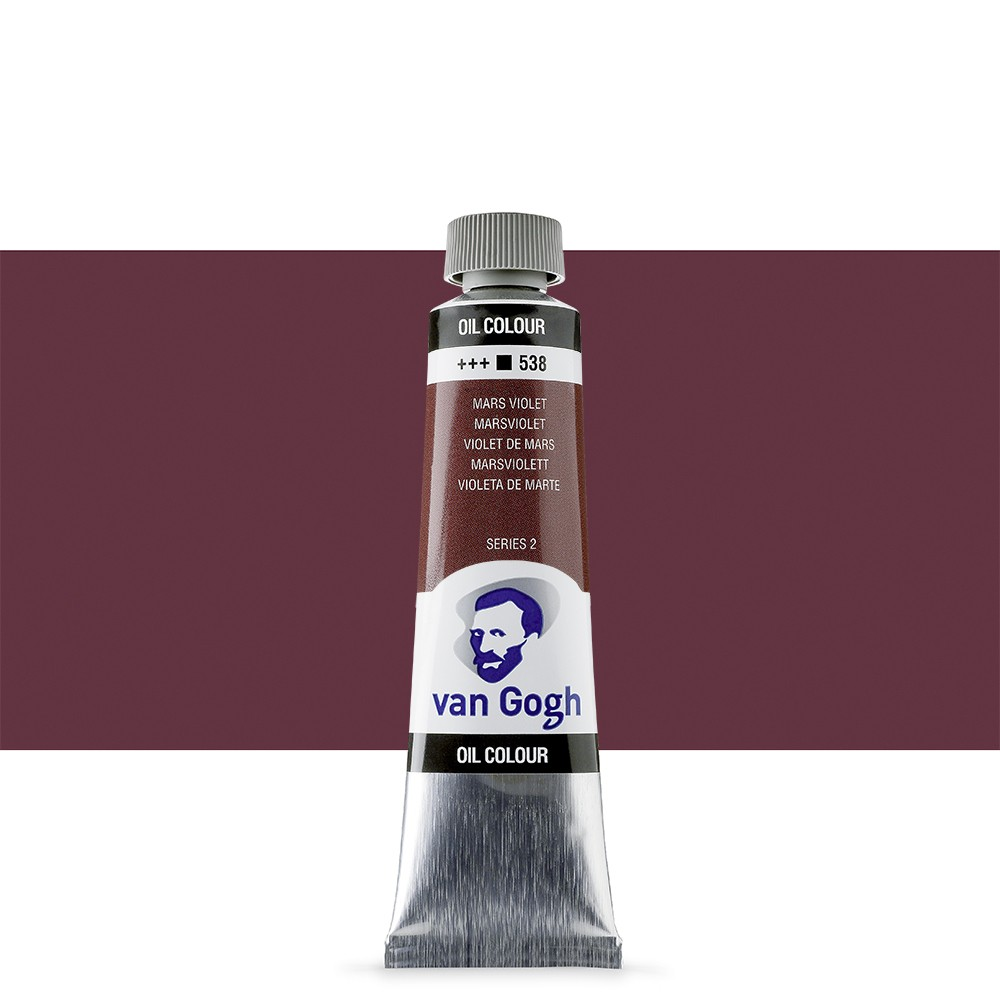 Talens : Van Gogh Oil Colour 40ml : MARS VIOLET S2
