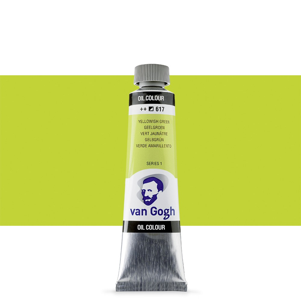 Talens : Van Gogh Oil Paint 40ml : Yellowish Green S1
