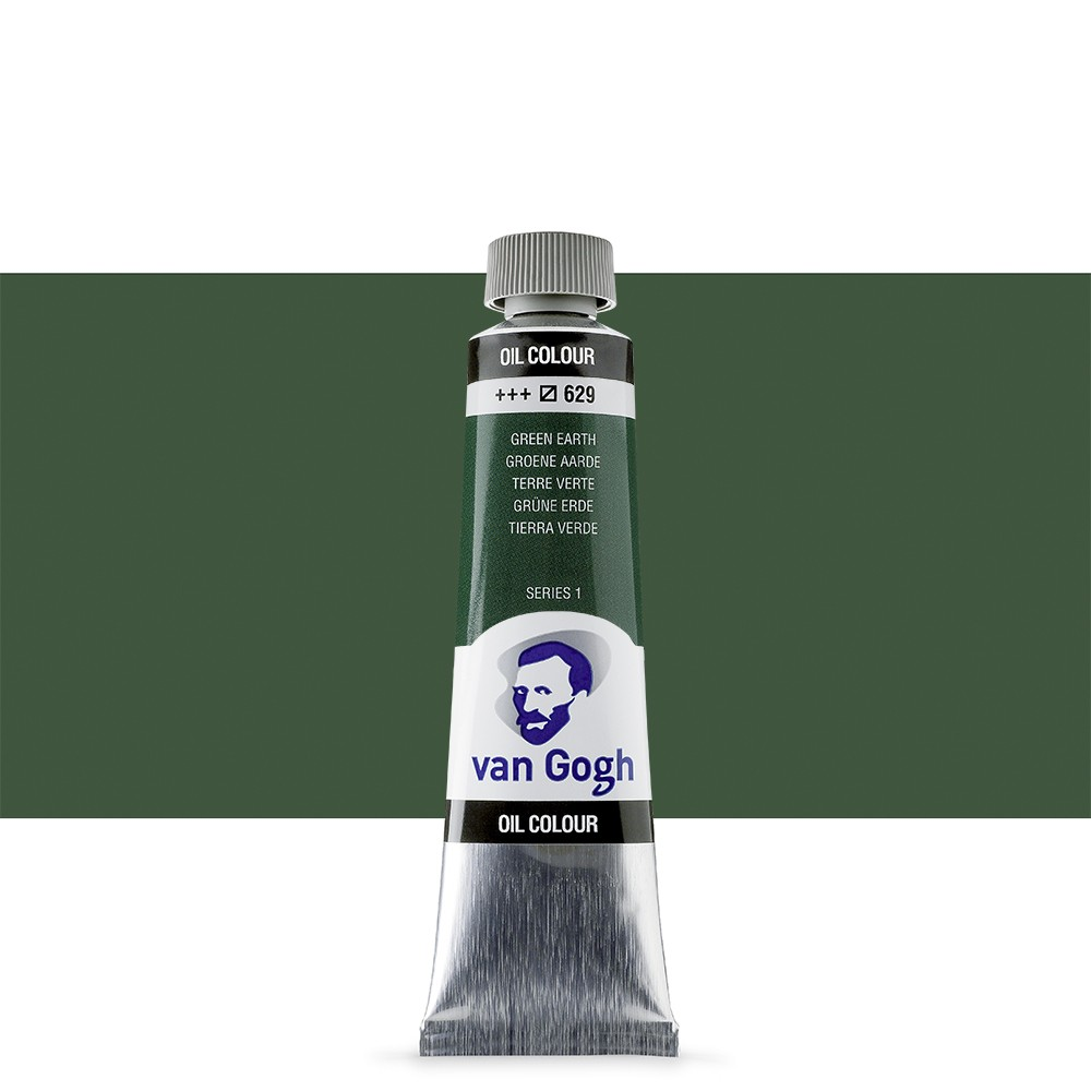 Talens : Van Gogh Oil Paint : 40ml : Terre:Verte (Green Earth) S1